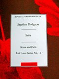 金管アンサンブル楽譜 金管7重奏のための組曲(Suite for brass Septet) 作曲/S,ドッチソン作曲(Stephen Dodgson)