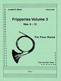 ホルン4重奏楽譜 ホルン四重奏のためのフリッパリーズVol.3 作曲/ロウェル・ショー【2012年12月取扱開始】