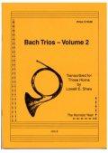 ホルン3重奏楽譜 ホルン三重奏のためのバッハトリオVol.2 作曲/JBバッハ 編集/ショー 【2012年12月取扱開始】