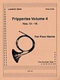 ホルン4重奏楽譜 ホルン四重奏のためのフリッパリーズVol.4 作曲/ロウェル・ショー【2012年12月取扱開始】