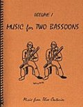 ファゴット2重奏楽譜 Music for Two Bassoons - Vol. 1