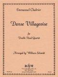 ダブルリード4重奏楽譜 ダブルリード四重奏のための村の踊り 作曲/エマニュエル シャブリエ【2012年12月取扱開始】