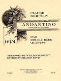 ダブルリード4重奏楽譜 ダブルリード四重奏のためのアンダンティーノ 作曲/クロード・ドビュッシー【2012年12月取扱開始】