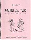 ミックス2重奏楽譜 Music for Two - Vol. 1 【Fl/Ob/Vln & Fl/Ob/Vln】