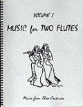 フルート2重奏楽譜 Music for Two Flutes, Volume 1