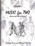 ミックス2重奏楽譜 Music for Two - Vol. 1 【Cl & Cello/Bsn】