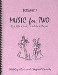 ミックス2重奏楽譜 Music for Two - Vol. 1【Fl/Ob/Vln & Cello/Bsn】
