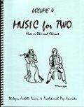 ミックス2重奏楽譜 Music for Two - Vol. 4 【Fl/Ob & Clarinet】