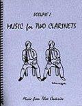 クラリネット2重奏楽譜 Music for Two Clarinets - Vol. 1