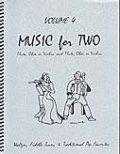 ミックス2重奏楽譜 Music for Two - Vol. 4 【Fl/Ob/Vln & Fl/Ob/Vln】