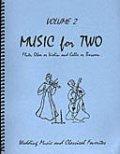 ミックス2重奏楽譜 Music for Two - Vol. 2【Fl/Ob/Vln & Cello/Bsn】