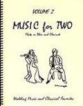 ミックス2重奏楽譜 Music for Two - Vol. 2 【Fl/Ob & Clarinet】