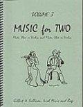 ミックス2重奏楽譜 Music for Two - Vol. 3 【Fl/Ob/Vln & Fl/Ob/Vln】