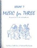 ミックス3重奏楽譜 Music for Three, Volume 7(Irish Music, Fiddle Tunes & Early Pop Favorites)