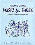 ミックス3重奏楽譜 Music for Three - Collection No. 7: Klezmer Dances