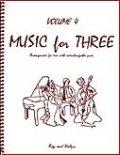 ミックス3重奏楽譜 Music for Three, Volume 4(Rags & Waltzes )