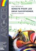 サックス2重奏楽譜 ソナタ(Sonate) 作曲/ベルノー(Bernaud,A.)