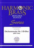 金管5重奏楽譜 管弦楽組曲第3番 (Orchestersuite Nr. 3 D-Dur (BWV 1068) ) 作曲/バッハ 編曲/Hans Zellner