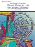 Classical Quartets for All(4重奏楽譜) Tenor Saxophone (フルスコアのみ)
