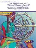 Classical Quartets for All(4重奏楽譜) Alto Saxophone (E-Flat Saxes & E-Flat Clarinets)  (フルスコアのみ)