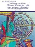 Classical Quartets for All(4重奏楽譜) B-Flat Clarinet, Bass Clarinet (フルスコアのみ)