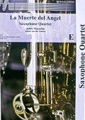 サックス4重奏楽譜 天使の死(La Muerte del Angel ) 作曲/アストル・ピアソラ 編曲/Linden【2015年7月6日入荷】