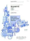 サックス4重奏楽譜 Quartet #3 作曲/B.ミンツァー【2015年6月24日入荷】