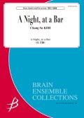 管打8重奏楽譜 A Night, at a Bar 作曲者:高 昌帥 【2017年7月28日発売】