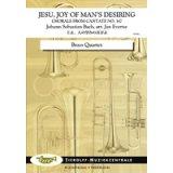 金管4重奏楽譜 主よ、人の望みの喜びよ 作曲:J.S.バッハ :J. エヴァーチェ【2017年8月取扱開始】