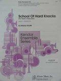 ボディパーカッション3重奏楽譜 スクール・オブ・ハード・ノックス(School of Hard Knocks) 作曲/マレイ・ホウリフ