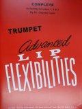 トランペット教材 唇の柔軟性の上級教則本(Advanced Lip Flexibilities) 作曲/コリン(Colin,C.)