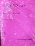 打楽器4重奏楽譜 インタープレイ(INTERPLAY) 作曲/マイケル・ホーヴィット