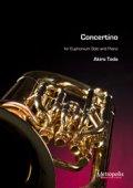 ユーフォニウムソロ楽譜 Concertino for euphonium(ユーフォニアムとピアノ)作曲:Akira Toda(戸田顕)