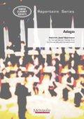 ソロクラリネットとクラリネット5重奏楽譜 Adagio 作曲/ベールマン 編曲/岩井秀昭