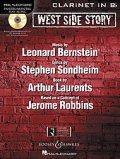 クラリネットソロ楽譜 ウエストサイドストーリー West Side Story for Clarinet(with CD )