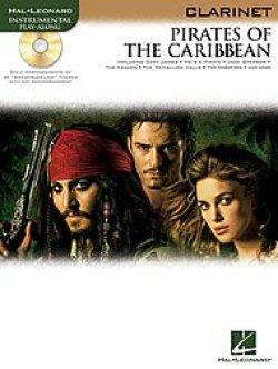 画像1: クラリネットソロ楽譜 パイレーツ オブ カリビアン Pirates of the Caribbean(with CD )