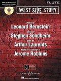 フルートソロ楽譜 ウエストサイドストーリー West Side Story for Flute (with CD )