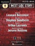 アルトサックスソロ楽譜 ウエストサイドストーリー West Side Story for Alto Sax (with CD )