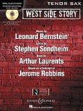 テナーサックスソロ楽譜 ウエストサイドストーリー West Side Story for Tenor Sax (with CD )