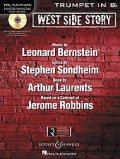 トランペットソロ楽譜 ウエストサイドストーリー West Side Story for Trumpet (with CD )