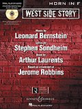 ホルンソロ楽譜 ウエストサイドストーリー West Side Story for Horn (with CD )