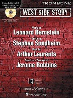 画像1: トロンボーンソロ楽譜 ウエストサイドストーリー West Side Story for Trombone (with CD )