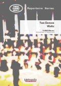 """クラリネット8重奏楽譜 Two Dances """"Waltz"""" 作曲:田地野 正人"""