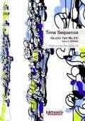 クラリネット2重奏楽譜 Time Sequence(クラリネットとバスクラリネット) 作曲:大前 哲