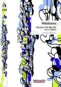 クラリネットソロ楽譜 Relations(クラリネットとピアノ) 作曲:大前 哲
