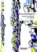 クラリネット2重奏楽譜 Time Portraits II(クラリネット2重奏 ) 作曲:大前 哲