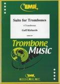 トロンボーン4重奏楽譜  トロンボーンのための組曲 作曲/G,リチャーズ