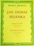 木管4重奏楽譜 2本のオーボエ、ファゴットと通奏低音のためのソナタ第2番 作曲/ゼレンカ