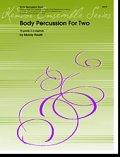 ボディパーカッション2重奏楽譜 Body Percussion For Two(2重奏作品集) 作曲/M.Houllif【2015年7月23日再入荷】