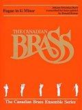 金管5重奏楽譜 Fugue in G Minor (By The Canadian Brass)